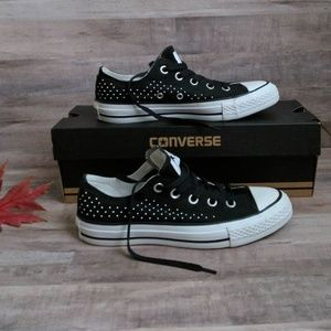 NEW Retired Studded Converse All Stars Lo